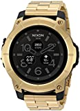 Nixon Men's 'Mission SS' Quartz Plastic and Stainless Steel Casual Watch, Color Rose Gold-Toned (Model: A1216501)