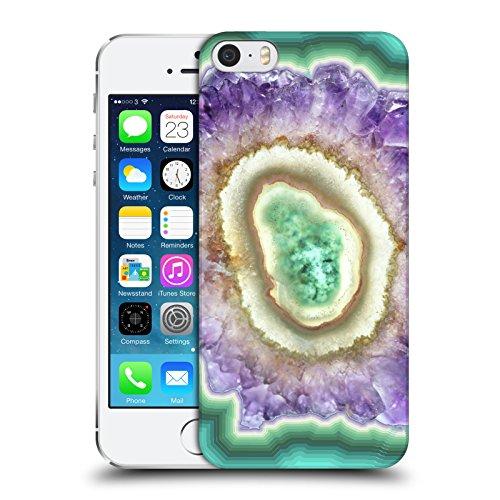 Officiel Monika Strigel Cristal Améthyste Étui Coque D'Arrière Rigide Pour Apple iPhone 5 / 5s / SE