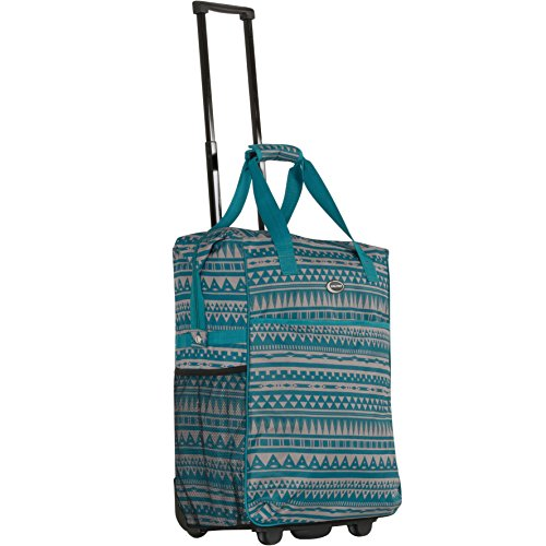 calpak-big-eazy-bright-check-20-inch-rolling-shopping-tote-bagblue-riveraone-size