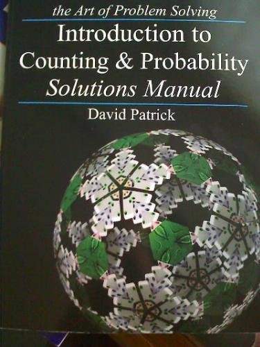 The Art of Problem Solving/ Introduction to Counting & Probability Solutions Manual