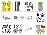 INKED by dani Temporary Tattoos (THE FUN PACK)