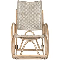 Safavieh Home Collection Bali Brown Rocking Chair