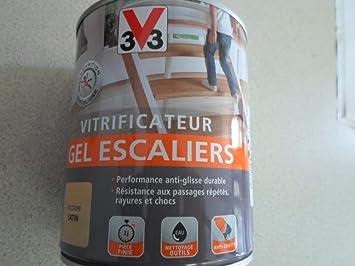 Vitrificateur Gel Escalier Incolore Satin 0 75 L V33 Amazon Fr