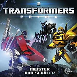 Meister und Schüler (Transformers Prime 2) Hörspiel