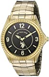 U.S. Polo Assn. Classic Men's USC80026 Round Analogue Black Dial Expansion Watch