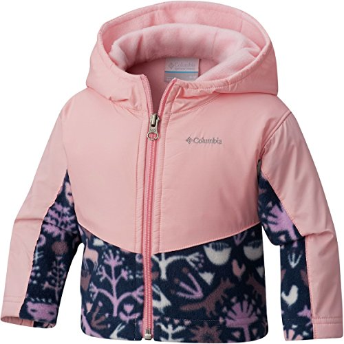Columbia Toddler Girls' Steens Mt Overlay Hoodie, Cupid Critters, 3T