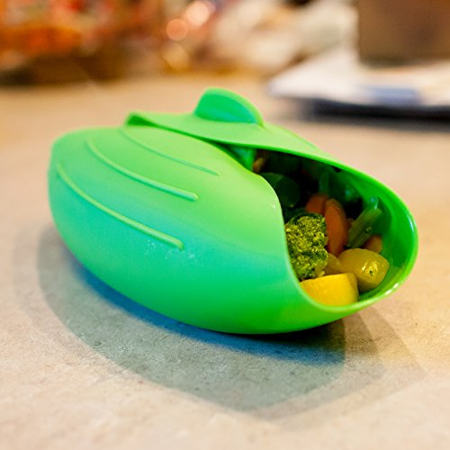 Vegetable Steamer | Bread Maker | Salad Bowl | Gourmet Omelet Maker | Chicken & Fish Poacher | Oven Roaster | 100% BPA Free Microwave Cooking + BONUS Cooking Instruction Sheet! (Baskets Gourmet Wine World)