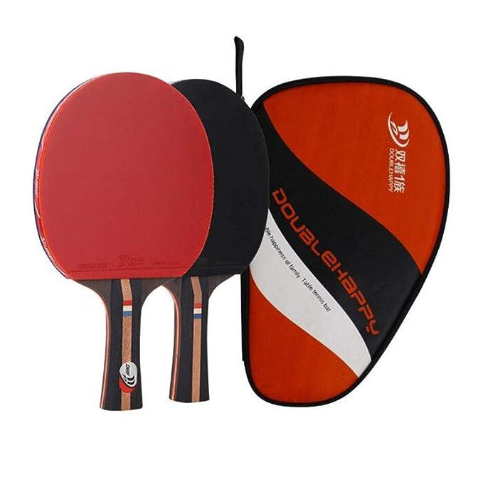 KUANDARPP Raqueta De Tenis De Mesa Ping Pong Altamente Elástico Y ...