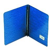 ACCO Pressboard Report Cover, lado encuadernado, bisagra reforzada Tyvek, centros de 8.5 pulgadas, capacidad de 3 pulgadas, tamaño de letra, azul oscuro (A7025973A)