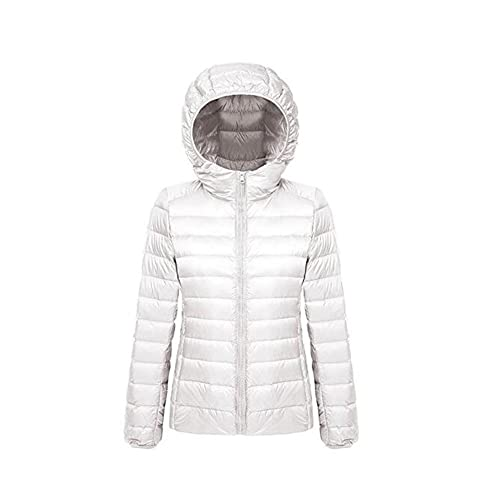 Ake Mujer Packable Hooded Winter Outwear Puffer Down Chaquetas