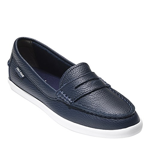 Cole Haan Women's Nantucket Ii Loafer Flat Peacoat Leather