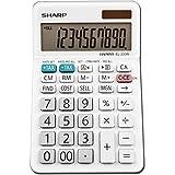 Sharp EL330WB EL-330WB Desktop Calculator, 10-Digit LCD