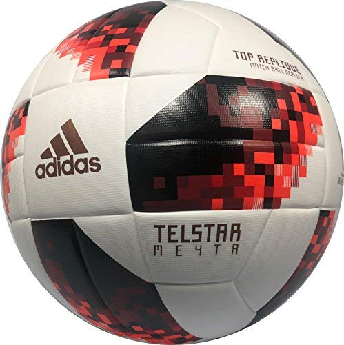 4d3ff90d5e53 Telstar Adidas World Cup Russia 18 Knock Out Top Replique Soccer Ball (4  (ages 6-12))