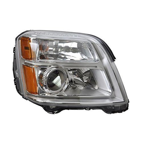 Headlight Headlamp Passenger Side Right Hand RH RF for 10-13 GMC Terrain