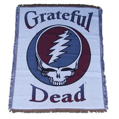 グレイトフルデッドフロアーラグマット&タペストリー DEAD HEAD   B075PR32HW
