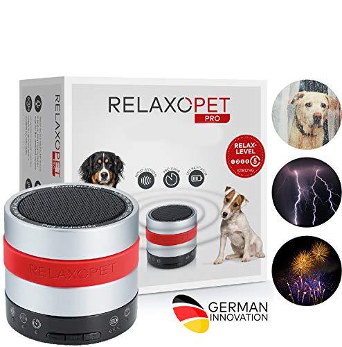 RelaxoPet para perros | Dispositivo antiestrés subliminal para todos los perros estresados y ansiosos.Calma por Ondas…