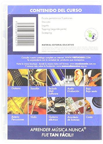 Virtuosso Electric Guitar Method Vol.2 (Curso De Guitarra Eléctrica Vol.2) SPANISH ONLY by Virtuosso (Image #1)