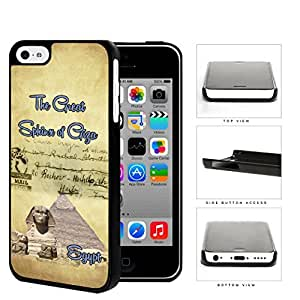 Egyptian Postcard Great Sphinx of Giza Hard Plastic Snap On Cell Phone Case Apple iPhone 5c