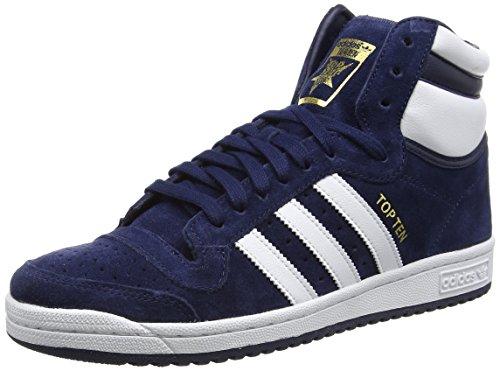 Ten White adidas Collegiate Sneaker Uomo Ftwr Blu Top Alte Navy Navy Hi Blau Collegiate UwqwPH5xT1