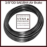 "3/8""Od 10 Meter SAEJ844 Air Brake Tubing Nylon Air Hose For Air Brake System nylon tube 3/8"