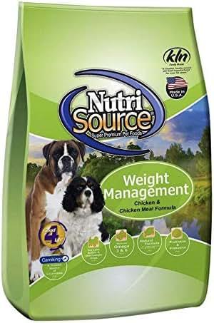 Dog Food: NutriSource Weight Management