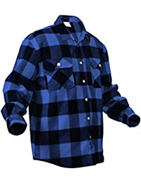 Heavy Weight Plaid Flannel Shirt
