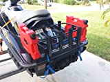 Kool PWC Stuff Jet Ski Fishing Rack with 6 Rod
