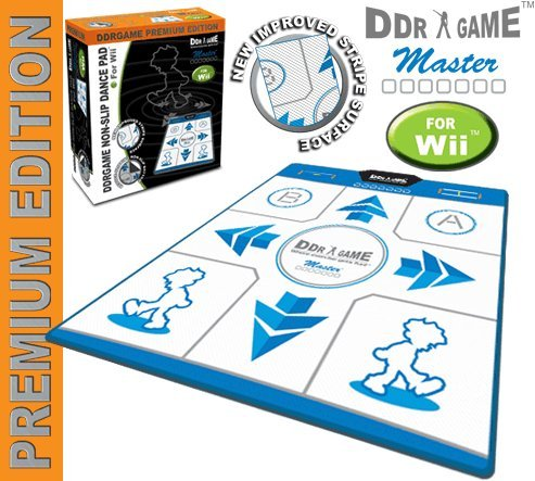 Wii DDR Non-Slip Game Pad (Premium Edition Dance Pad)