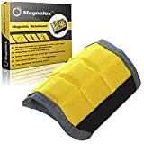 Magnelex Best Magnetic Wristband for Holding Tools, Screws, Nails, Bolts, Drilling Bits. One of The Best Christmas Gifts For Men, Dad, Husband, Relatives, Coworker, Friends, Family. Unique Gift Idea