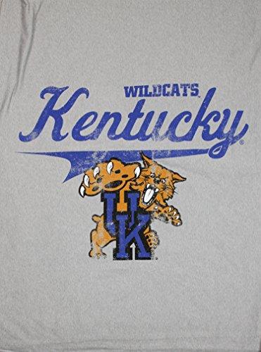 The Northwest Company University of Kentucky Wildcats NCAA Sweatshirt Throw Blanket, Grey ()