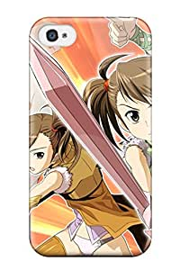 New Tpu Hard Case Premium Iphone 4/4s Skin Case Cover(idolm@ster)