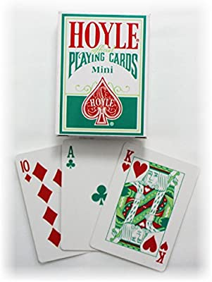 Hoyle Dog Coke 3 Deck Set Mini Holiday Playing Cards Small Size USPCC