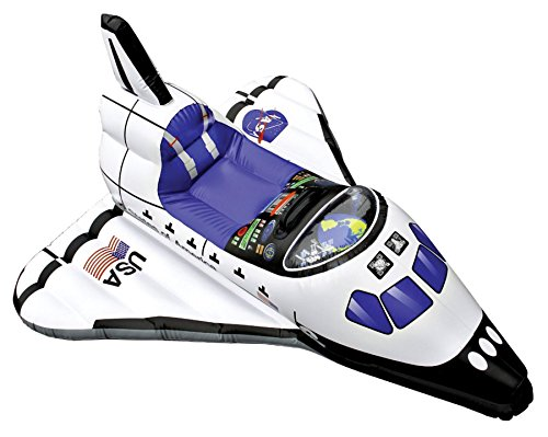 Aeromax-Costumes Junior Space Explorer Inflatable Space Shuttle Accessory ()