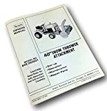 """Sears 40"""" Snow Thrower Attachments Model 842-260621 Owners Operators Manual"""
