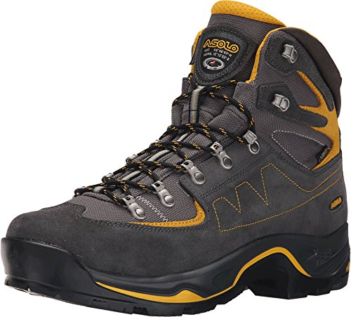 - Asolo TPS Equalon GV EVO Boot - Men's (10.5 M US, Graphite/Mineral Yellow)