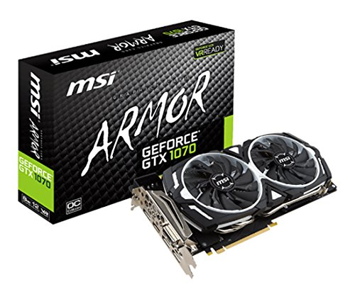 MSI ARMOR GeForce GTX 1070