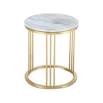 Entzuckend CB Marmor Kleine Runde Tisch Kreative Wohnzimmer Goldene Couchtisch Sofa  Tisch Ecke Ein Paar Lässig Lesetisch