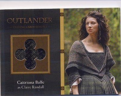 2016 Outlander Season 1 Trading Cards Wardrobe Card M16 Caitriona Balfe as Claire Randall
