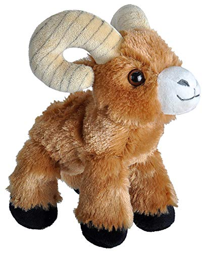 Wild Republic Bighorn Sheep Plush, Stuffed Animal, Plush Toy, Gifts for Kids, Hug
