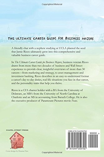 the ultimate career guide for business majors jamie rizzo cfa 9781544059792 amazoncom books
