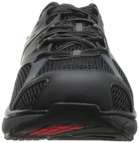Mbt Zapato De Cordones Simba Para Hombre Negro / Granito