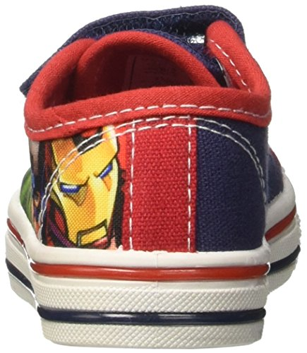 Marvel S17137haz - Patucos de tela para niño azul Size: turquesa