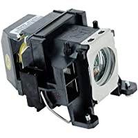 Emazne ELPLP48/V13H010L48 Projector Replacement Compatible Lamp With Housing For Epson PowerLite 1716