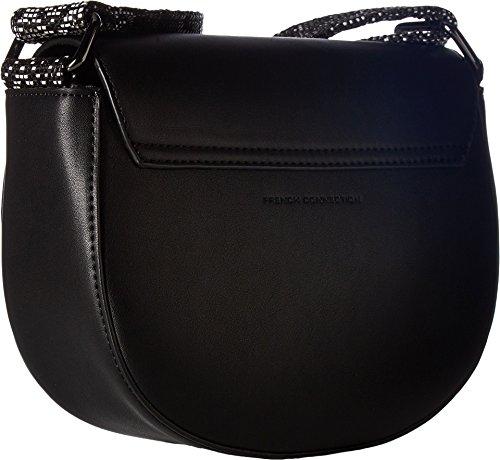 French Connection Women's Mia Shoulder Bag Black Handbag