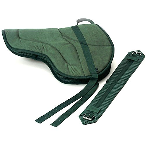Best Friend English Style Bareback Pad, Hunter Green, Pony Size