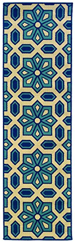 Oriental Weavers Sphinx Rug Runners - Oriental Weavers 969W6 Caspian Outdoor/Indoor Area Runner Rug, 2-Feet 3-Inch by 7-Feet 6-Inch