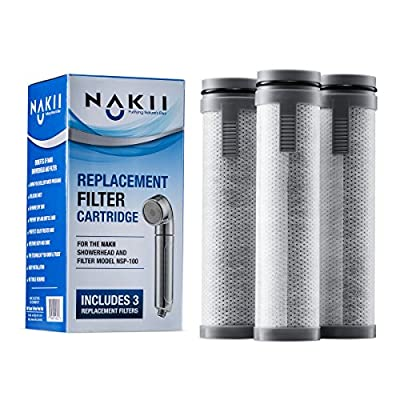 Nakii Replacement Filter for NSP-100, 3 Pack