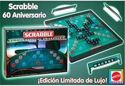 Mattel Scrabble 60 Aniversario: Amazon.es: Juguetes y juegos