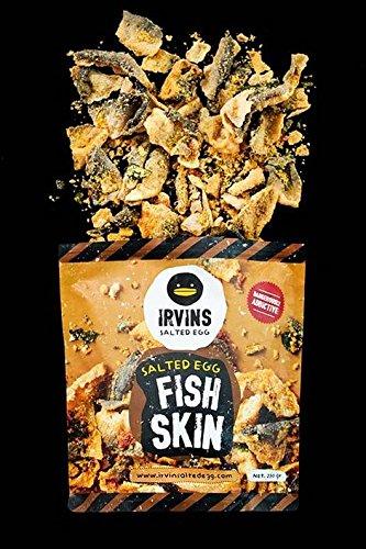 Irvins salted egg fish skin chips crisps BIG 230g x 1 pac