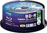 TDK Blu-ray Disc 30 Spindle - 25GB 4X BD-R - Printable